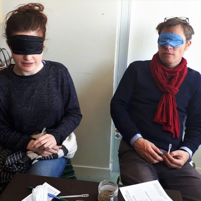 Dégustations à l'aveugle