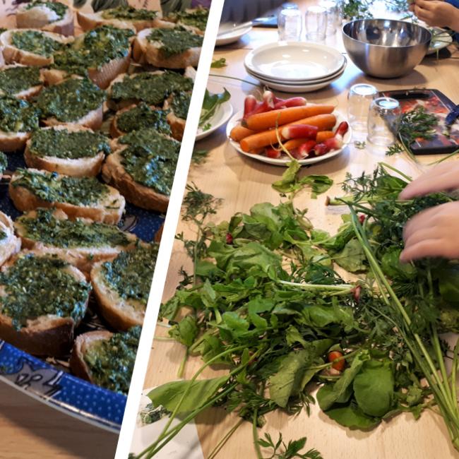Atelier cuisine anti-gaspi