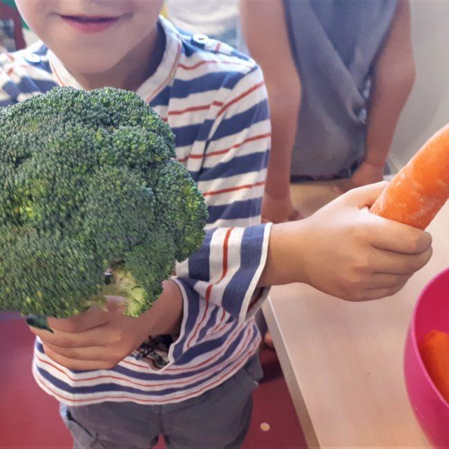 Atelier autour des légumes